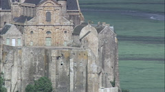Mont St Michel Stock Footage