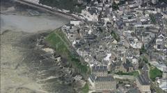Granville aerial Stock Footage