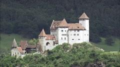 Balzers Castle Stock Footage