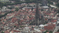 Ulm Cathedral Stock Footage