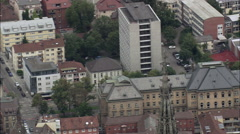 Ulm aerial Stock Footage