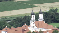 Roggenburg Abbey Stock Footage