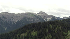 Valley In Bavarian Alps Stock Footage