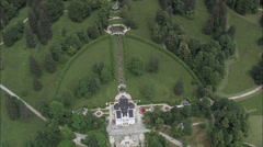 Linderhof Palace Garden Stock Footage