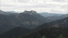 Western Edge Of Berchtesgadener Land Stock Footage
