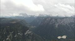 Entering Berchtesgadener Land Stock Footage