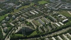 Residential Estates Stock Footage
