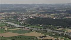 Bogen aerial Stock Footage