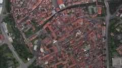 Amberg aerial Stock Footage