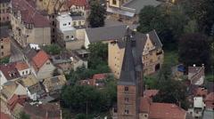 Altenburg aerial Stock Footage