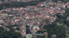 Wittenberg aerial Stock Footage