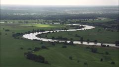 River Elbe Stock Footage