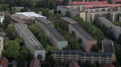Apolda And Plattenbau Public Housing Stock Footage
