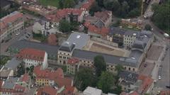 Weimar aerial Stock Footage
