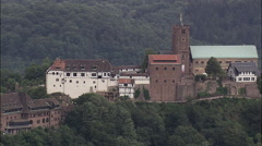 Wartburg Castle Stock Footage