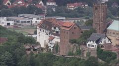 Wartburg Castle Stock Footage