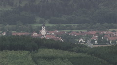 Petersberg And Church Of St Peter Stock Footage