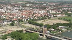 Nibelungen Bridge Stock Footage