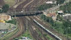 Mannheim Marshalling Yard Stock Footage