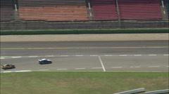 Hockenheimring Race Track Stock Footage