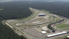 Hockenheimring Race Track Stock Footage