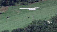 Landgut Dreihof Golfcourse Stock Footage