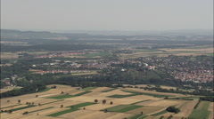 Vaihingen An Der Enz Castle Stock Footage