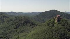 Trifels Castle Stock Footage