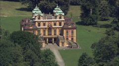 Ludwigsburg Palace Gardens Stock Footage