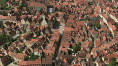Rothenburg Centre Stock Footage