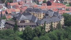 Blankenberg aerial Stock Footage