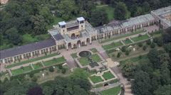 Buildings In Sanssouci Royal Park Stock Footage