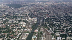 Berlin From The East Stock Footage