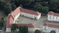 Oranienburg Before Garden Restoration Stock Footage
