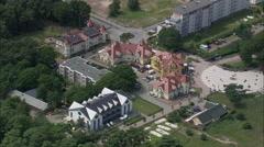 Karlshagen aerial Stock Footage