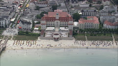 Binz aerial Stock Footage