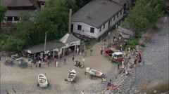 Vitt aerial Stock Footage