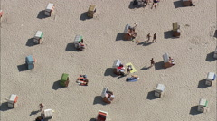 A Warnemunde Pleasure Beach Stock Footage
