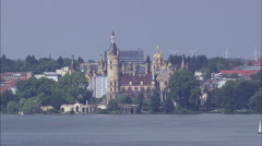 Schwerin Castle Stock Footage