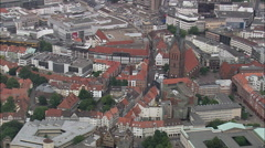 Hanover aerial Stock Footage