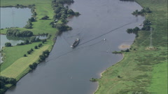 Hemelingen Docks On River Weser Stock Footage