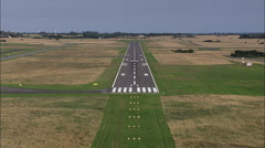 Roskilde Airport Stock Footage
