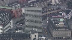 Copenhagen - Sas Hotel/Arne Jacobsen Stock Footage