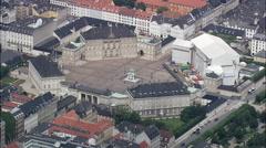 Copenhagen - Amelienborg Stock Footage