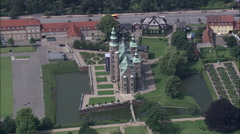 Copenhagen - Rosenborg Slot Stock Footage