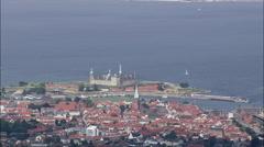 Kronborg Slot Stock Footage