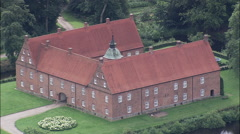 Kongsdal Manor House Stock Footage
