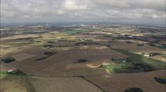 Kalundborg aerial Stock Footage