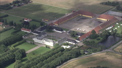 Lerchenborg Slot Stock Footage