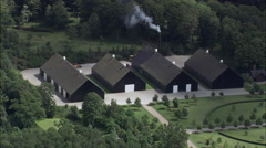 Manor House Near Vedbynorre Stock Footage